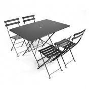 Fermob: Brands - Fermob - Bistro Garden Set 4 Chairs