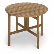 Skagerak: Design special - Teak garden furniture - Selandia folding Outdoor Table round