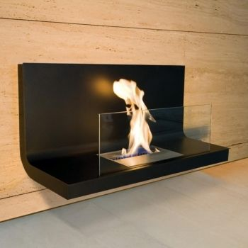 Wall Flame 1 Wall-mounted Fireplace