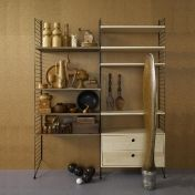 String: Categories - Furniture - String Wood Wall Shelf