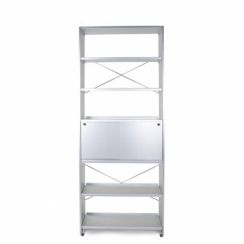 Lehni Aluminium Office Shelf