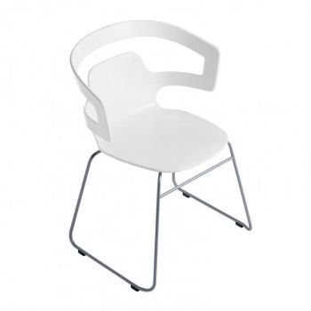 501 Segesta Armchair with Skids