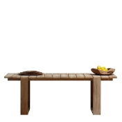 Jan Kurtz: Design special - Teak garden furniture - Gallery Garden Table