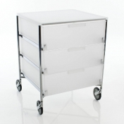 Kartell: Brands - Kartell - Mobil 3 Container with wheels