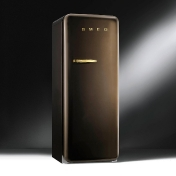 Smeg: Categories - High-Tech - FAB28 Chocolate DreamRefrigerator