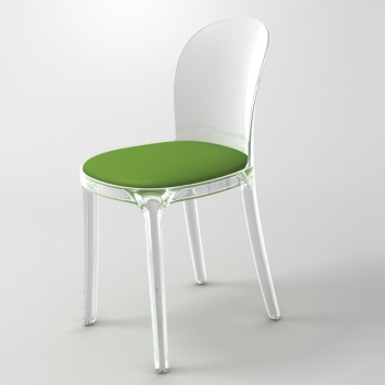 Vanity Chair - Chaise transparente