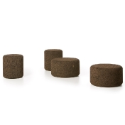 Moooi: Categories - Furniture - Corks Stool + Side Table