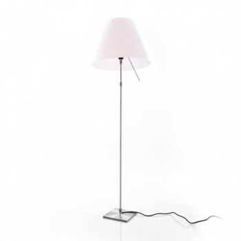 Costanza Terra Floor Lamp Telescope/Dimmer
