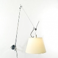 Artemide: Categories - Lighting - Tolomeo Mega Parete Parchment Shade
