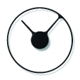 Stelton: Brands - Stelton - Stelton Time Wall Clock