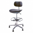 Wilde + Spieth: Categories - Furniture - S 197 R Counter Swivel Chair