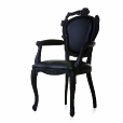 Moooi: Categor&iacute;as - Muebles - Smoke Dining Armchair - Silla con apoyabrazos