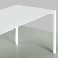 Kristalia: Categories - Furniture - Thin-K Aluminium Table extendable