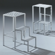 Jan Kurtz: Rubriques - Mobilier - Aerostep - Escabeau/ Tabouret