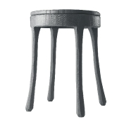 Muuto: Marques - Muuto - Raw - Table d'Appoint/tabouret