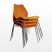 Kartell: Brands - Kartell - Maui Chair Set of 4