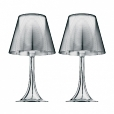 Flos: Brands - Flos - Miss K Table Lamp Set