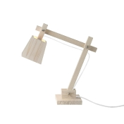 Muuto: Marques - Muuto - Wood Lamp - Lampe de Table