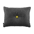 HAY: Brands - HAY - Dot Cushion 2 buttons fabric Divina Melange