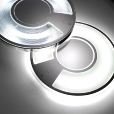 LucePlan: Rubriques - Luminaires - Lightdisc 40- Applique/Plafonnier