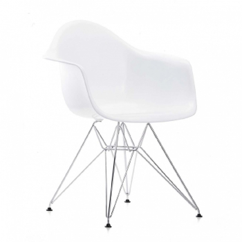 Eames Plastic Chair Fauteuil DAR 