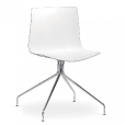 Arper: Categories - Furniture - Catifa 46 Chair with star-base bicoloured