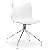 Arper: Brands - Arper - Catifa 46 Chair with star-base bicoloured