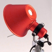 AmbienteDirect.com: Outlet - B stock - Table lamp with minor flaws - Tolomeo Micro Pinza Clip Spot red