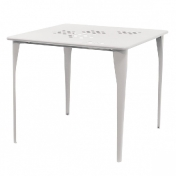 emu: Marques - emu - 519 Pattern - Table de Jardin 87x87cm
