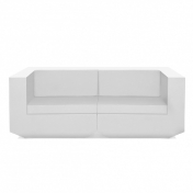 Vondom: Categories - Furniture - Vela Sofa 2-Seater
