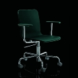 Magis: Categories - Furniture - Soho Swivel Armchair on Wheels