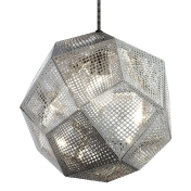 Tom Dixon: Rubriques - Luminaires - Etch Shade Copper - Suspension