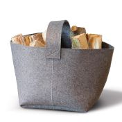 Hey-Sign: Brands - Hey-Sign - Hey-Sign Felt Fire Wood Basket