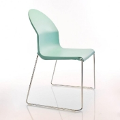 AmbienteDirect.com: Outlet - 2a clase - Sillas con defectos - Aida Chair turquoise
