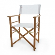 Jan Kurtz: Design Special - Meubles de jardin en teak - Directors Chair - Fauteuil de jardin