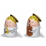 Alessi: Kategorien - Accessoires - Angels Band Figuren, Set 2