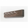 Artificial: Categories - Accessories - Kawenzmann Coatrack with chrome hooks