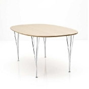 Fritz Hansen: Categories - Furniture - B612 Super-Elliptic Table 150cm