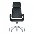 Interstuhl: Brands - Interstuhl - Silver Swivel Armchair 362S
