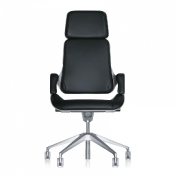 Interstuhl: Categories - Furniture - Silver Swivel Armchair 362S