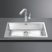 Smeg: Categories - High-Tech - VQ72-2 Inset Sink