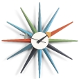 Vitra: Kategorien - Accessoires - Sunburst Clock Wanduhr