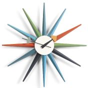 Vitra: Brands - Vitra - Sunburst Clock
