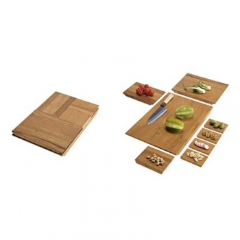 Cut In Half Set Cutting Board