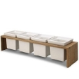 Skagerak: Rubriques - Accessoires - Plint Bowl, service  de 4 coupes 