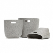 Hey-Sign: Categories - Accessories - Felt Wastebasket