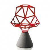 Magis: Marques - Magis - Chair One - Chaise pivotante socle en ciment