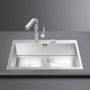 Smeg: Brands - Smeg - VQ72RS-2 Inset Sink