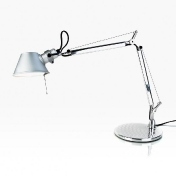 AmbienteDirect.com: Outlet - 2a clase - Lámparas de sobremesa con defectos - Tolomeo Micro Table Lamp alu