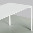 Kristalia: Categories - Furniture - Thin-K Aluminium Table